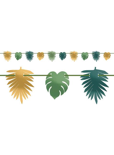 Guirnalda de hojas tropicales - Tropical Gold