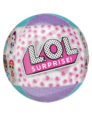 LOL Surprise folieballon rund