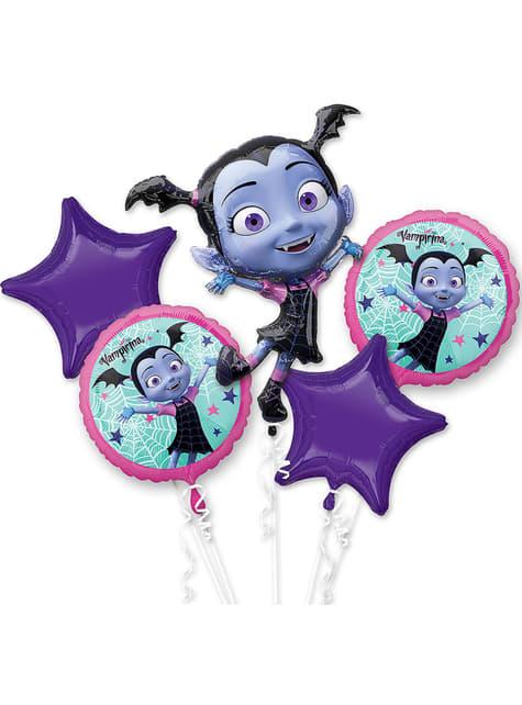 Bouquet de globos de foil de Vampirina