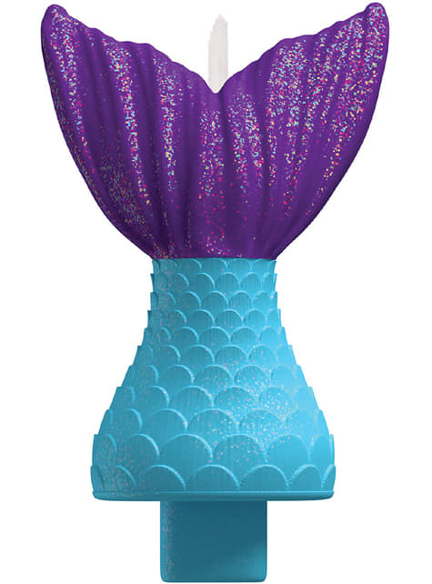 Bougie queue de sirène - Mermaid Wishes