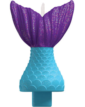Mermaid's tail candle - Mermaid Wishes