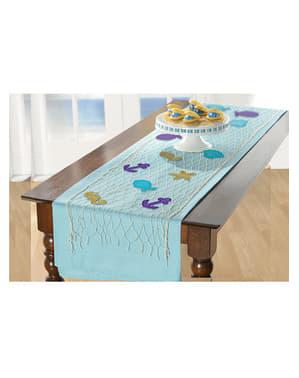 Sailor net table runner - Mermaid Wishes
