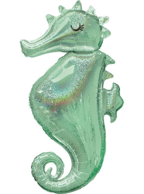 Seahorse foil balloon - Mermaid Wishes