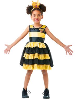 Kuningatarmehiläinen -asu tytöille – LOL Yllätys