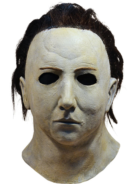 Máscara de Michael Myers deluxe para adulto - Halloween II