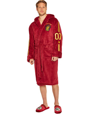 Gryffindor Quidditch bathrobe for men - Harry Potter