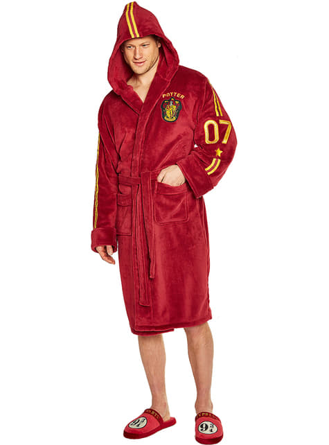 Albornoz de Gryffindor Quidditch para hombre - Harry Potter - oficial
