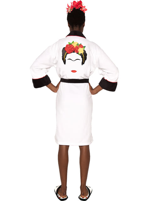 Frida Kahlo Minimalist bathrobe for women