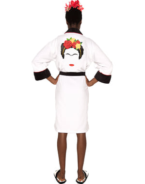Frida Kahlo Minimalist bathrobe for women