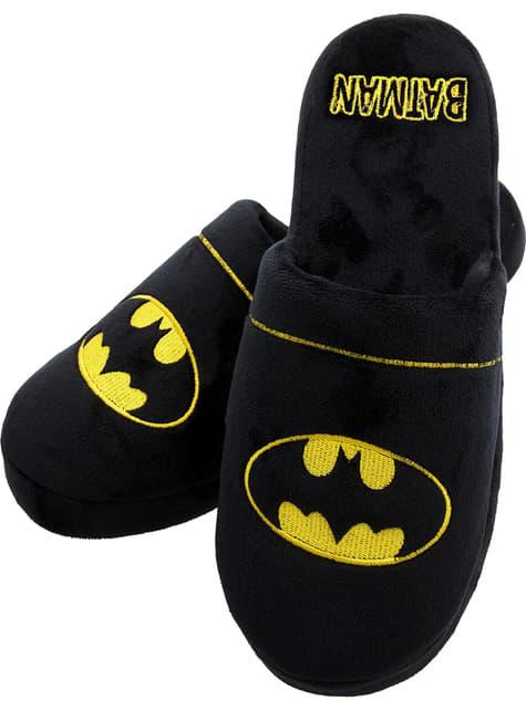 Zapatillas de estar por casa de Batman logo para hombre