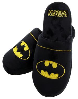 Innetofflor Batman logga vuxen