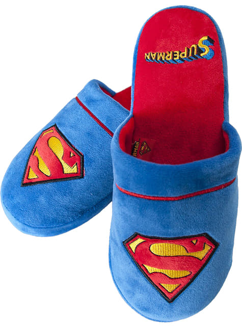 Bačkory s logem Superman pro ženy