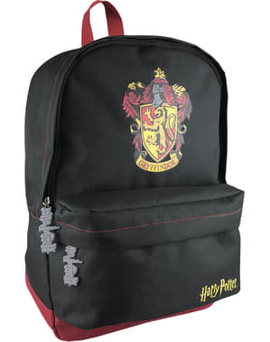 Mochila de Gryffindor preta - Harry Potter