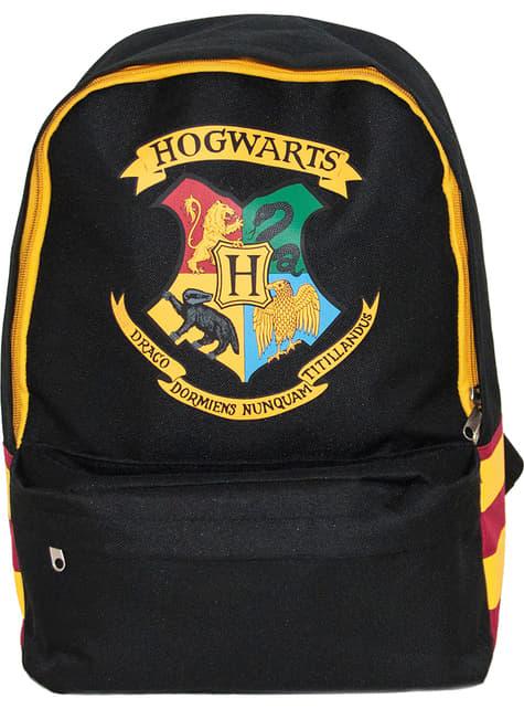 Mochila de Hogwarts negra - Harry Potter