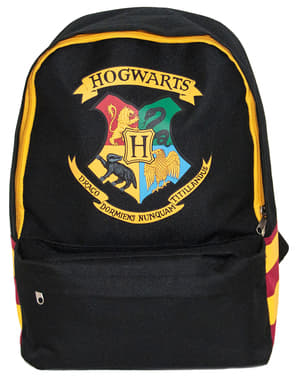 Hogwarts rygsæk i sort - Harry Potter