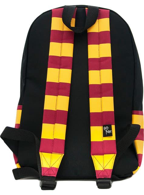 Mochila de Hogwarts negra - Harry Potter - oficial
