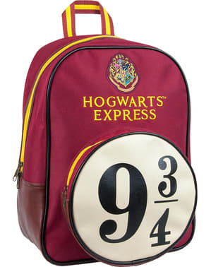Harry Potter backpack Platform 9 and 3/4 Hogwarts Express