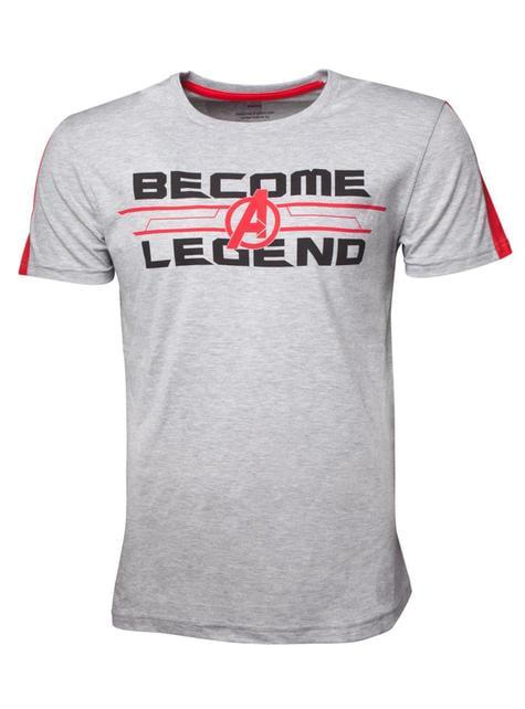 T-shirt Avengers Become a Leyend - Avengers: Endgame