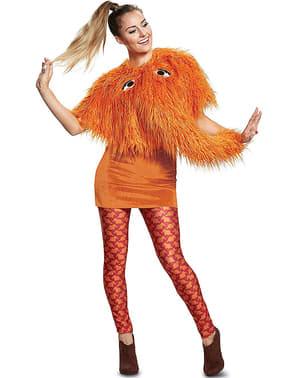 Costume di Sr. Snufflepagus per donna - Barrio Sesamo