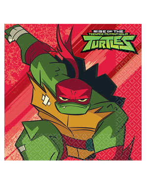 16 Teenage Mutant Ninja Turtles napkins (33x33 cm)