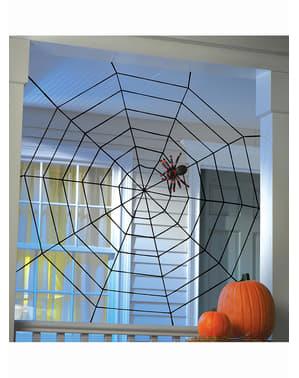 Teia de aranha viúva negra