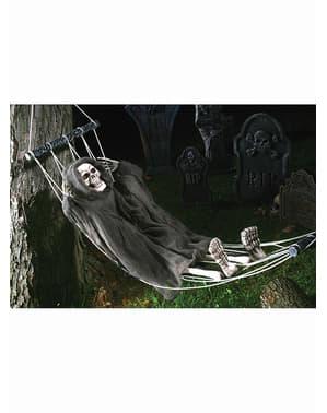 Figura colgante de muerte en hamaca