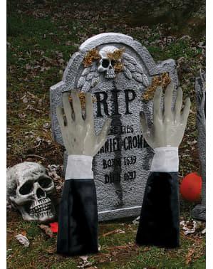 Figura decorativa de braços de além-túmulo