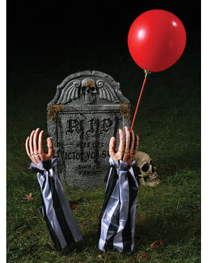 Dekoracja ogrodu Figurka Klaun Zombie