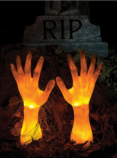 Terrifying hands