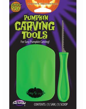 Инструменти за изрязване на тикви