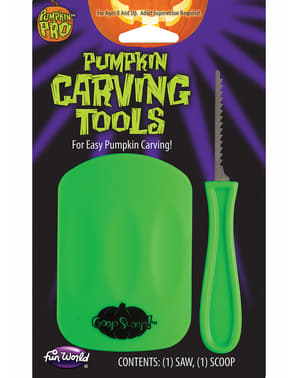 Tools for carving pumpkins