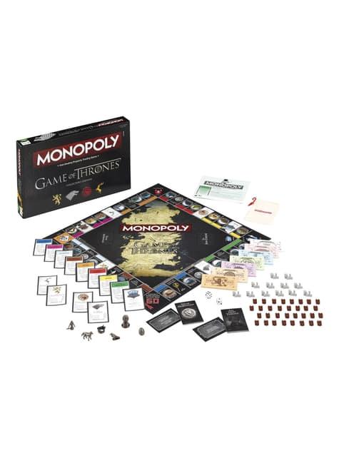 Monopoly de Juego de Tronos en inglés