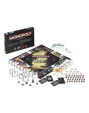 Monopoli Il Trono di Spade in Inglese