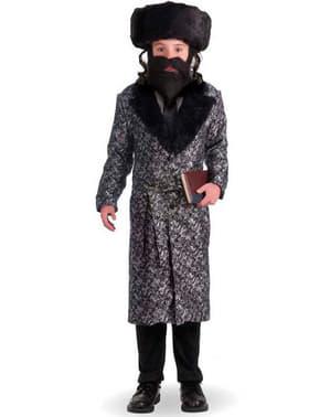 Maskeraddräkt rabbin för barn