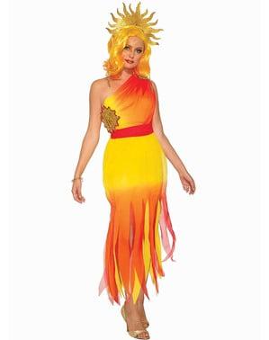 Slunce kostým pro ženy