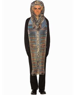 Disfraz de sarcófago egipcio para hombre