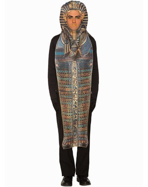 Egyptisch sarcofaag kostuum voor mannen
