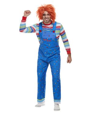 Chucky Maskeraddräkt för honom