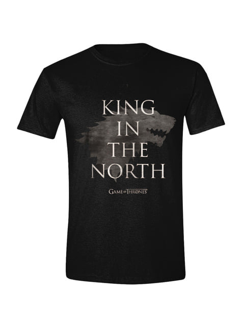 Game of Thrones King of the North T-Shirt for men