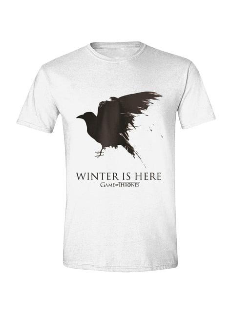 Camiseta de Juego de Tronos Cuervo para hombre