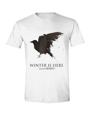 Game of Thrones Ravn T-Shirt til mænd