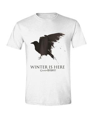 T-shirt di Game of Thrones Corvo per uomo