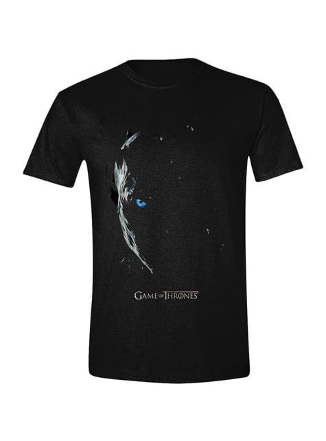 T-shirt de Game of Thrones Night King para homem