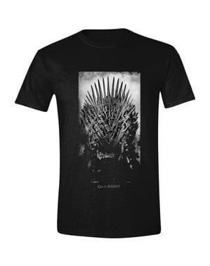 Game med Thrones Iron Throne T-Skjorte til menn