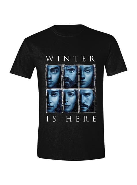 T-shirt Game of Thrones Winter is Here per uomo