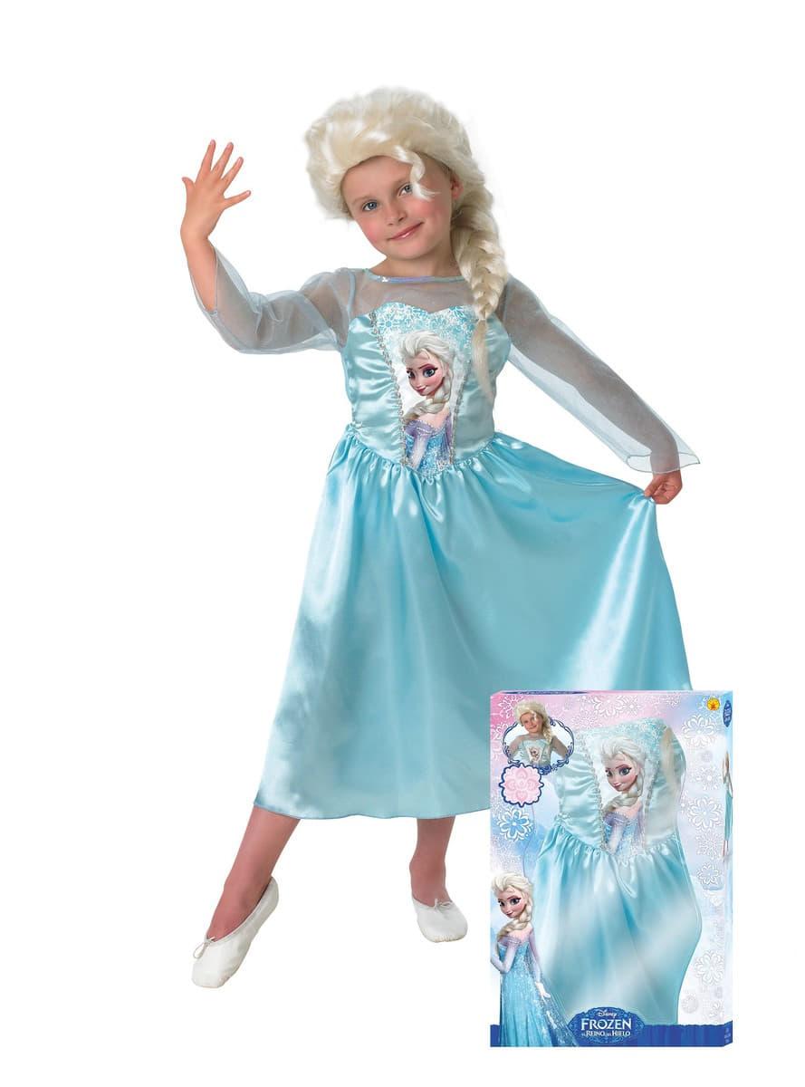 D guisement elsa la reine des neiges avec perruque pour - Elsa la reine ...