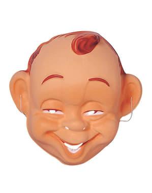 Máscara de bebé sorridente para adulto