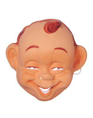 Възрастни усмихнати маска за бебета
