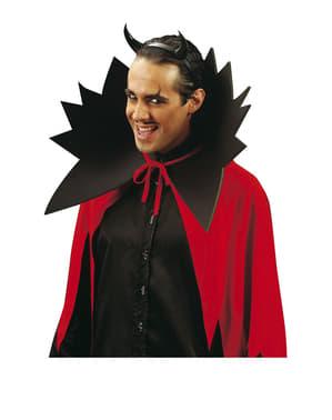 Teufel Diadem mit Hörnern schwarz