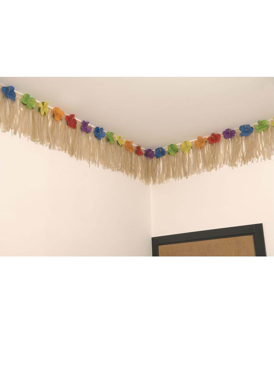 guirnalda hawaiana decoraci n para fiestas funidelia. Black Bedroom Furniture Sets. Home Design Ideas